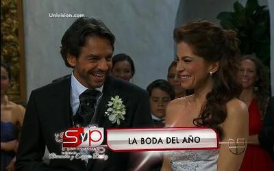 Lo mejor del 2012: La boda de Eugenio Derbez y Alessandra Rosaldo
