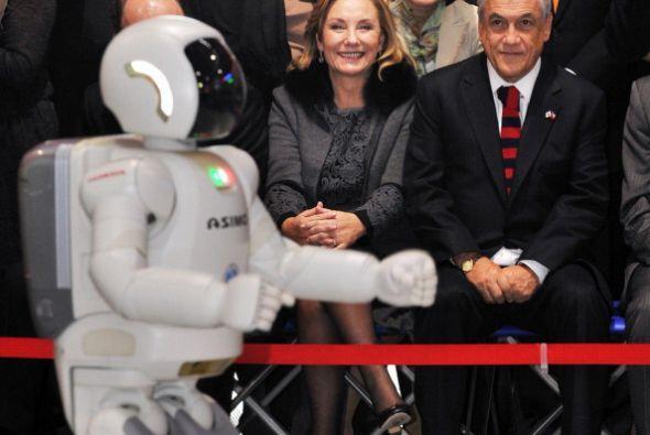 Y en marzo de 2013 el expresidente chileno Sebastián Piñera y su esposa...