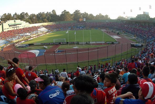 Así estuvo el estadio Mateo Flores para rendirle homenaje al ídolo tras...