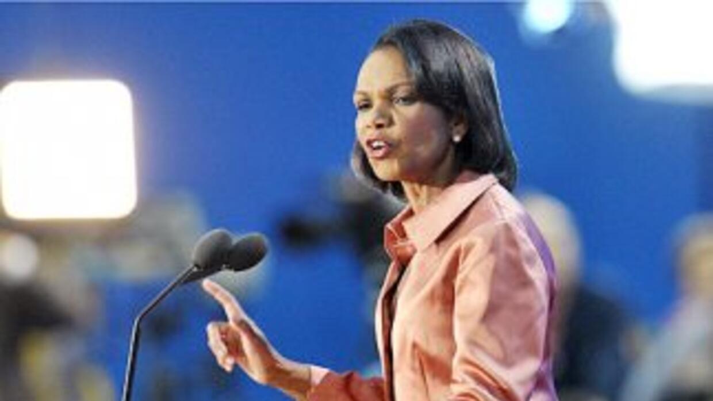 La ex Secretaria de Estado de Estados Unidos, Condoleezza Rice, integra...