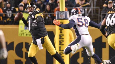 Steelers 34-27 Broncos: Pittsburgh perdía por 17 anotó 24 y le ganó a De...