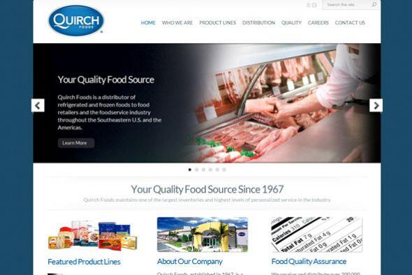 8. Quirch Foods  Ubicación- Miami, Florida.  CEO- Guillermo Quirch.  Tip...