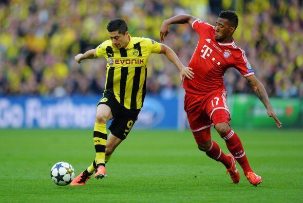 A pesar del dominio del Dortmund y las oportunidades de Robben, el gol n...