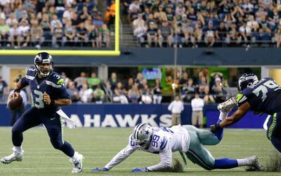 El daño que hizo Russell Wilson a los Cowboys en la Semana 3 de la prete...