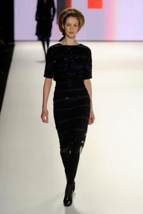 El 'little black dress' ha sido uno de los básicos en varias de sus cole...