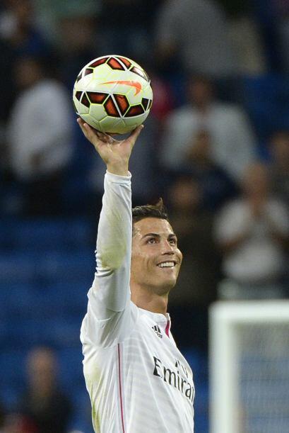 En la presente campaña 2014-2015, Cristiano Ronaldo ya tiene 12 goles en...