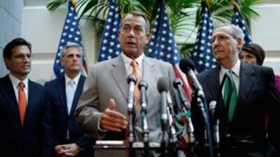 El liderazgo republicano del Congreso.