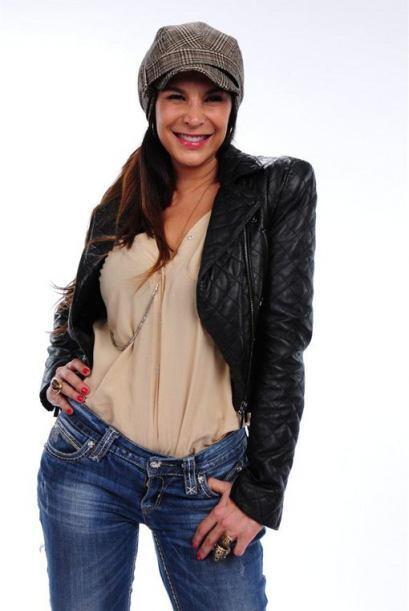 Lorena Rojas posó muy coqueta para nuestros usuarios.