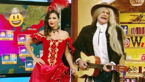 Ana Patricia y Alan contaron sus mejores chistes de vaqueros al estilo d...