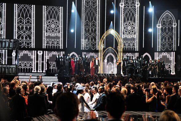 Y no sólo fueron las presentaciones de los nominados quienes siempre del...