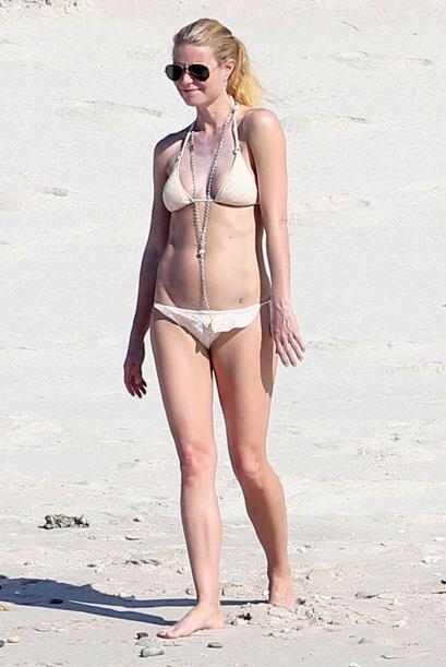 Gwyneth disfrutó de Cabo como nunca.