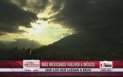 Más mexicanos vuelven a su país de los que llegan a EEUU
