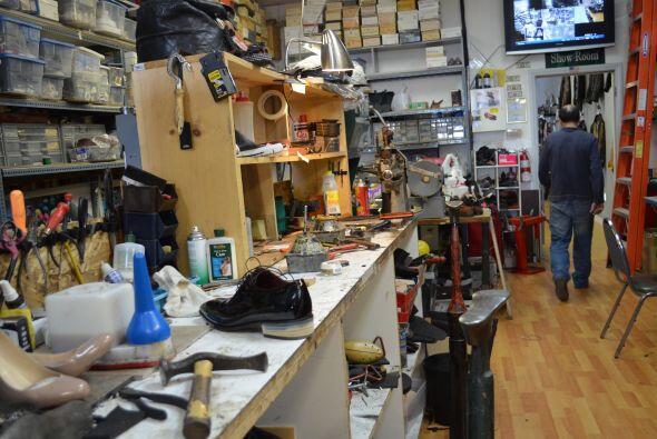 De este pequeño taller han salido grandes creaciones que han sido admira...