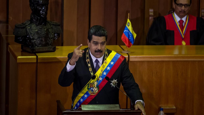 """Maduro llama a """"un gran movimiento nacional"""" de repudio contra orden eje..."""