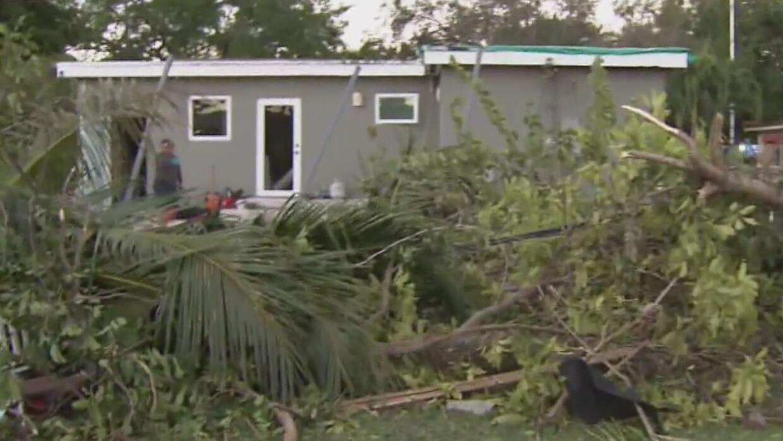 Miami Springs y Hialeah, las zonas más afectadas por tornado en el sur d...