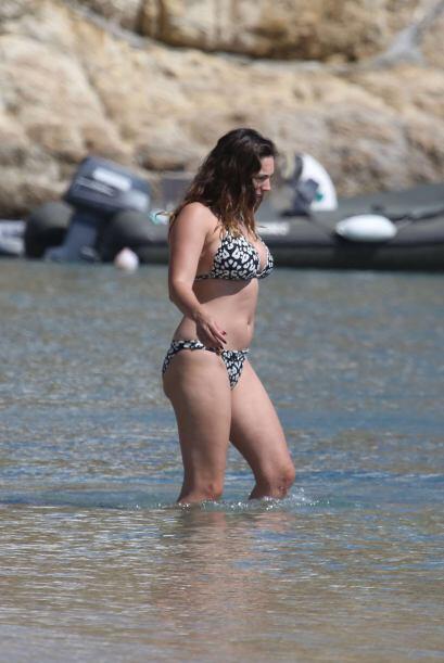 La modelo británica se encontraba en la isla de Mykonos con su pr...
