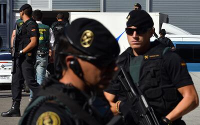 Desde 2015 las fuerzas españolas han detenido a un total de 183 t...