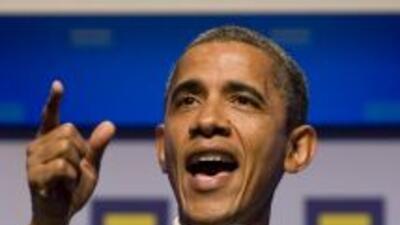 Barack Obama podrá administrar al gobierno hasta noviembre próximo.