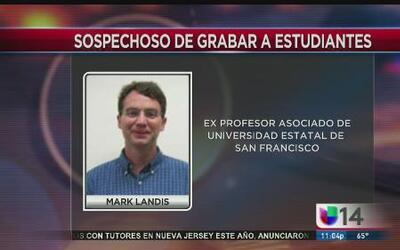 Profesor arrestado por grabar estudiantes en el baño
