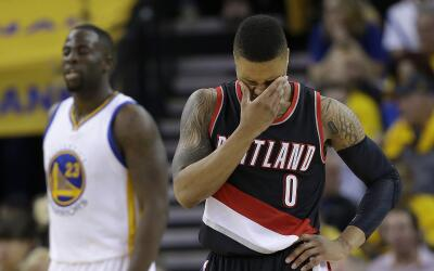 Lillard se lamenta porque su equipo no pudo mantener la ventaja.