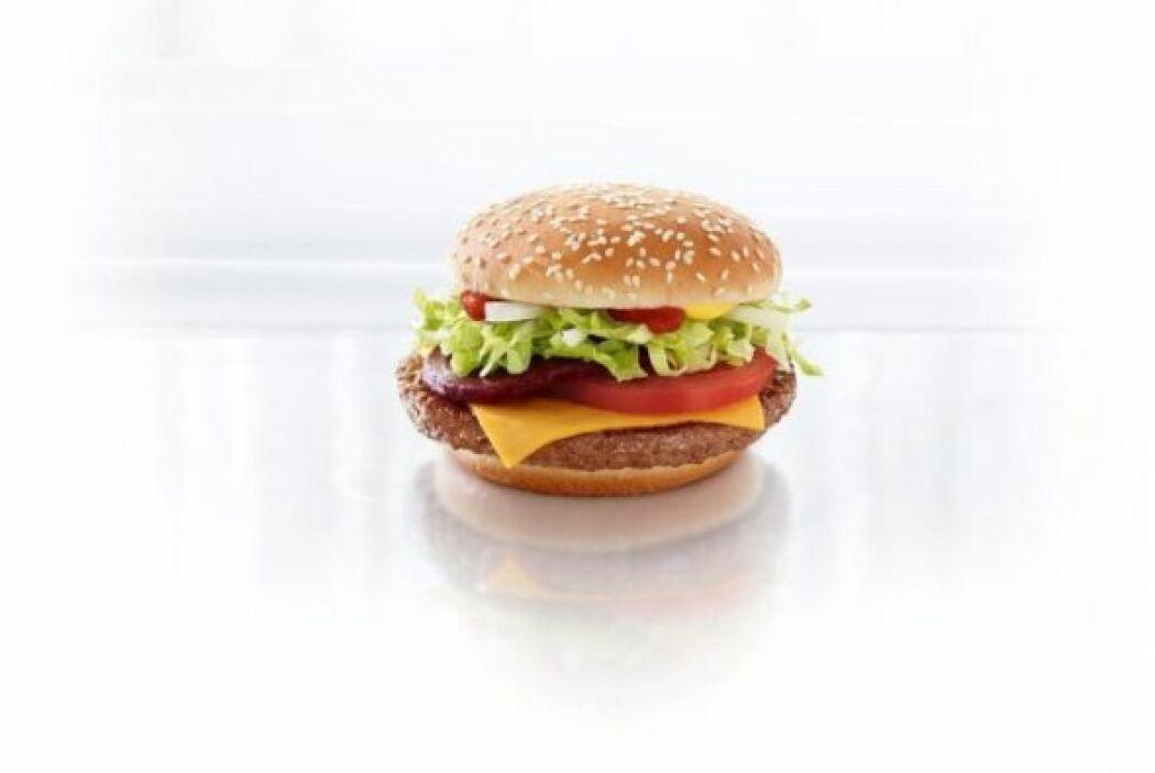 Australia - Nom, nom, nom! Hamburguesa de remolacha! Foto tomada de Twitter