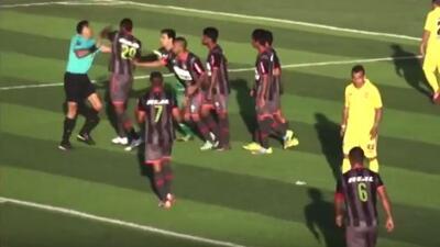 Joyce Conde, jugador del Unión Huaral, agredió al árbitro central