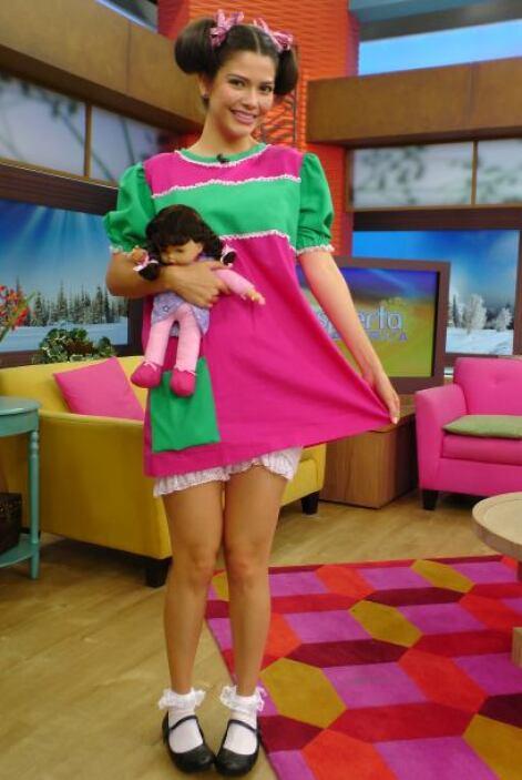 Ana Patricia como La Popis.