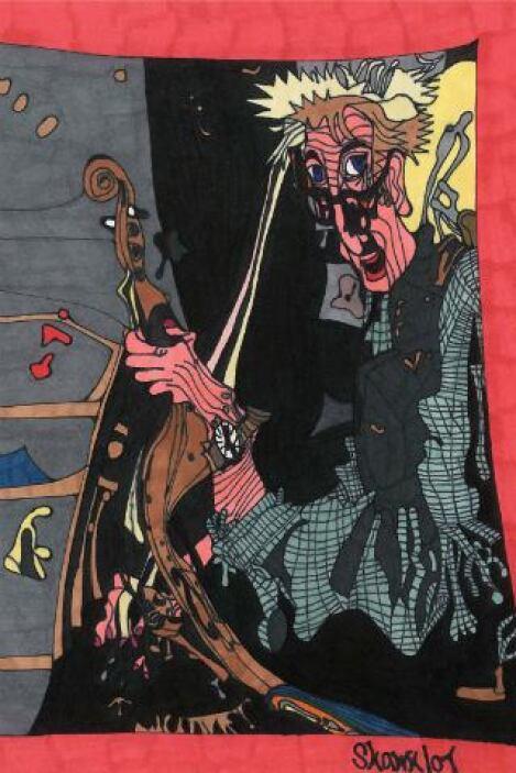 "Shawn Belanger, ""Music Man"" -""Drawing Autism""es una increíble colecció..."