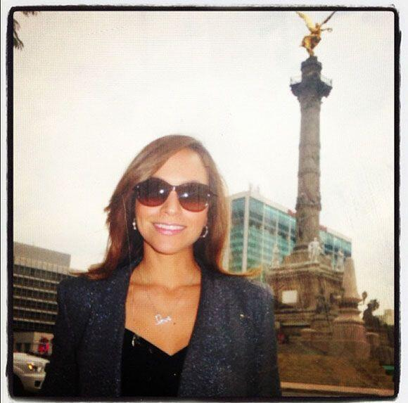 """""""#Gracias #México por permitirme cubrir una historia tan fascinante para..."""