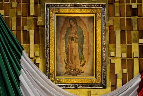 Morenita del Tepeyac, La Guadalupana o la Patrona de México, son algunos...
