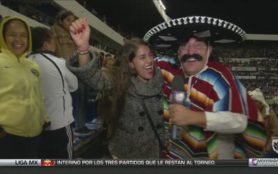 Kevin Arnulfo hizo de las suyas en el partido de Querétaro vs América