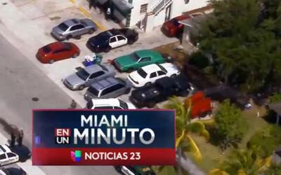 'Miami en un Minuto': policía investiga la muerte de un menor de dos año...