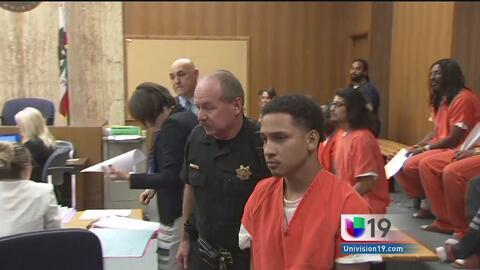 Jóvenes acusados de tráfico humano comparecen ante el juez