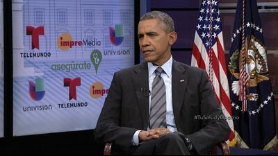Obama asegura a los inmigrantes que datos personales de ObamaCare no son...