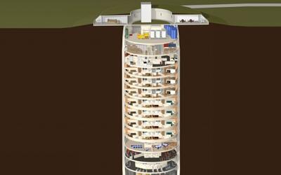 Así se preparan los ricos para un ataque nuclear: apartamentos de lujo b...