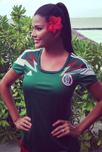 Ana siempre lleva a México en su corazón y en su equipaje...