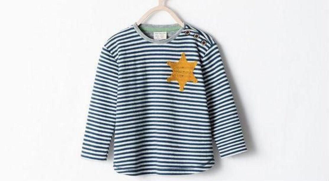 El caso de la polémica camiseta puesta a la venta y retirada más tarde p...