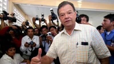 Andrés Granier, exgobernador de Tabasco envuelto en escándalo.