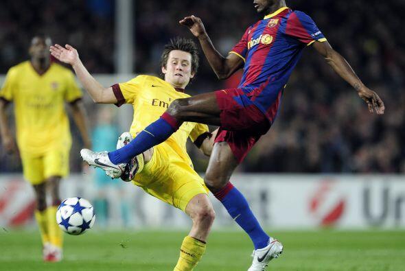 Para el complemento, se esperaba a un Arsenal más ofensivo.