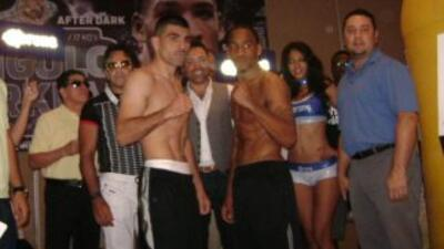 Alfredo Angulo y James Kirkland lograron superar la báscula (Foto: Box L...