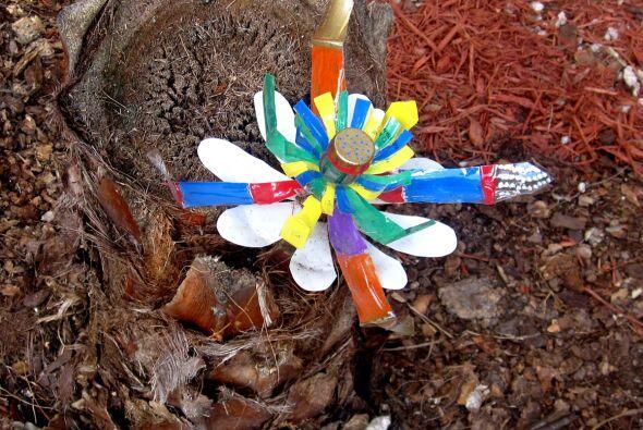 Los niños hicieron volar su imaginación con sus creaciones.