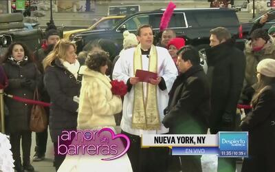 ¡Nueva York fue testigo de la boda de Adrián y Margarita!