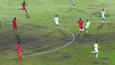 Venezuela goleó a Haití en Veracruz 2014. (Twitter)