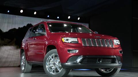 La Jeep Grand Cherokee 2014 equipada con el motor EcoDiesel 3.0 se&ntild...