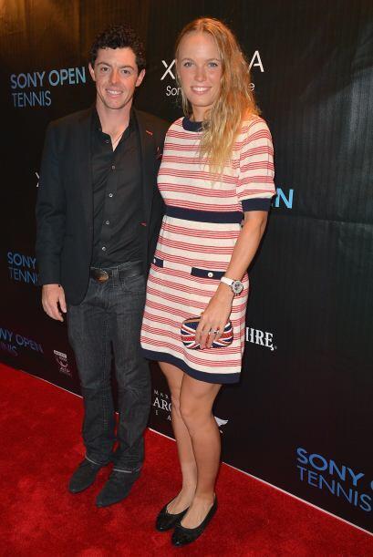 Caroline Wozniacki llegó acompañada de su novio, el famoso...