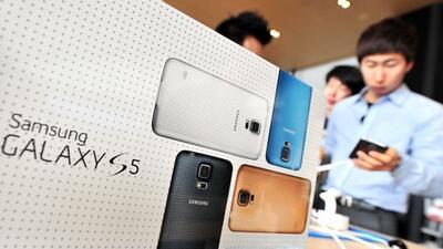 El Galaxy S5 no ha tenido el éxito esperado en Corea del Sur.