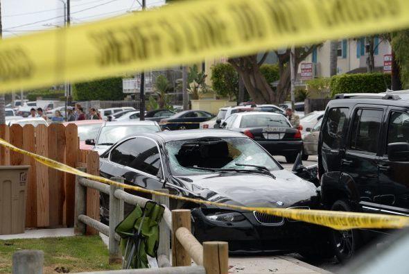 Los hechos ocurrieron en la localidad californiana de Isla Vista, en una...