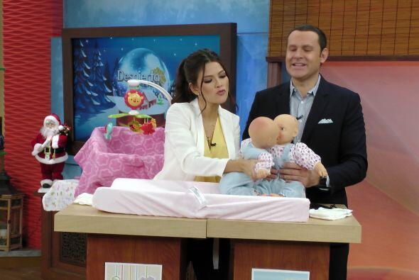 Ana no dudó en presentar a su bebé y el de Alan. ¿Tendremos romance infa...