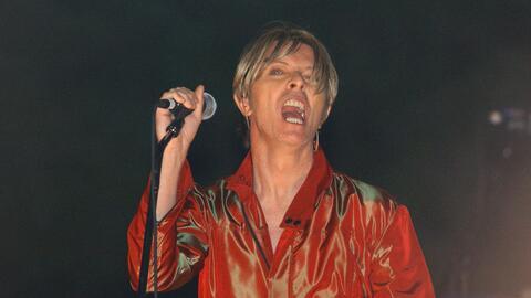 David Bowie recibe el Grammy de manera póstuma por su producci&oa...