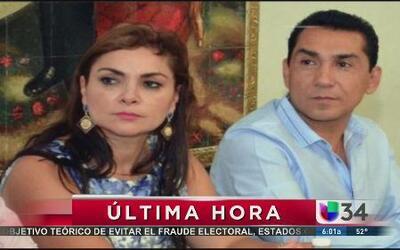 Arrestaron a ex alcalde de iguala y a su esposa